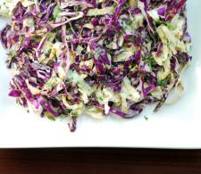 Салат из капусты с маком