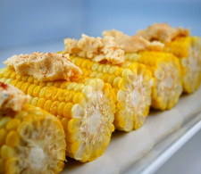 Кукуруза с острым маслом