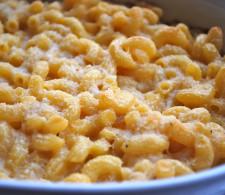 Сливочные макароны с сыром
