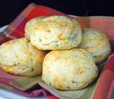 Сырное печенье с беконом
