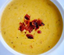 Сырный суп с сидором