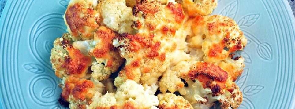 калорийность цветная капуста с сыром в духовке