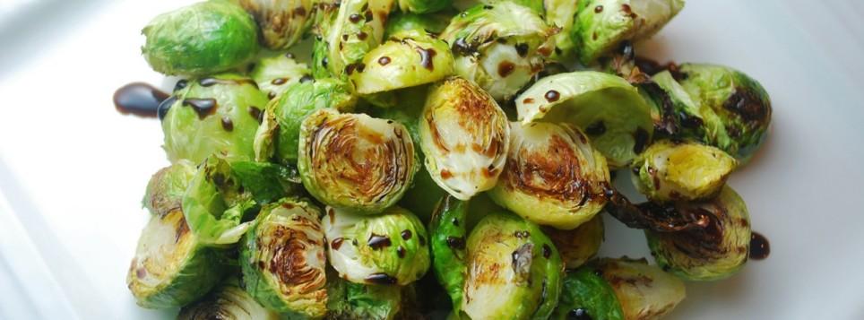 Жареная брюссельская капуста