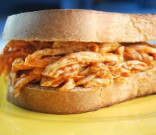 Острый сэндвич с курицей
