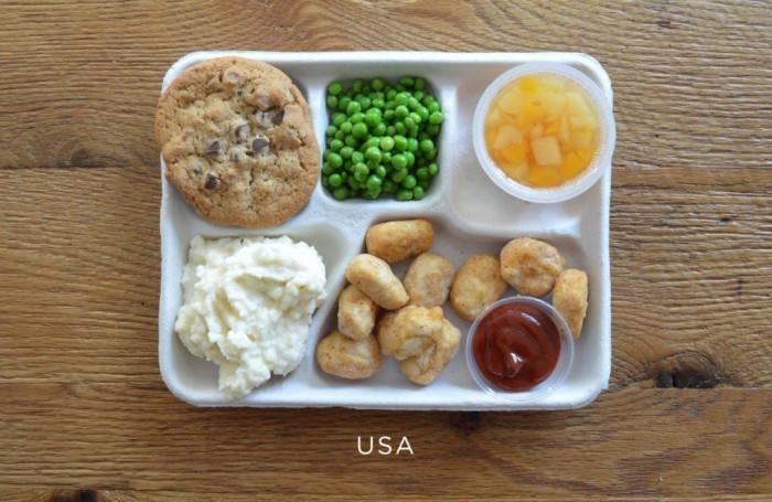 Американский обед