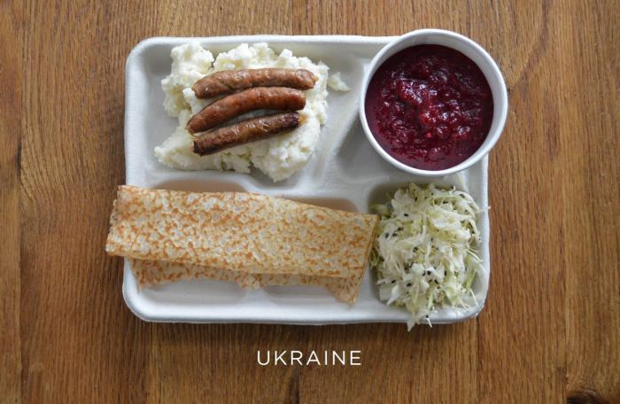 Украинский обед