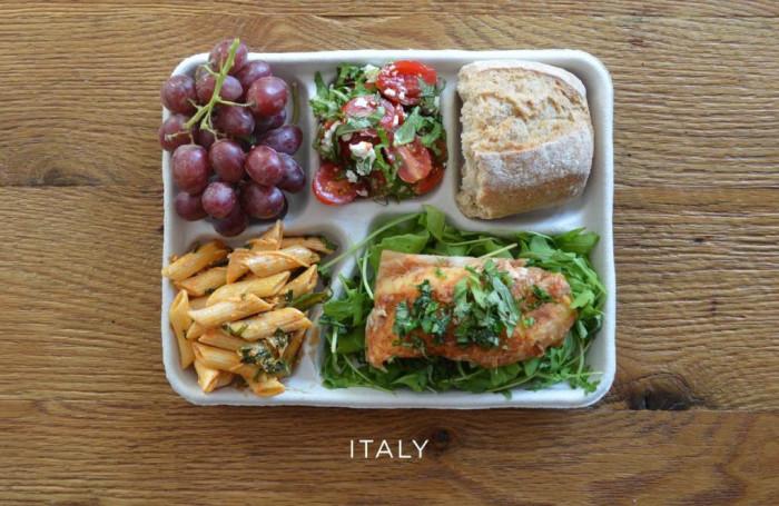 Итальянский обед