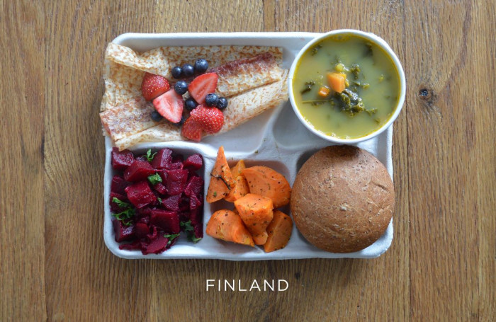 Финский обед