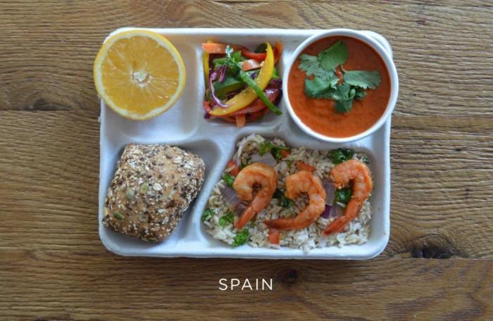 Испанский обед