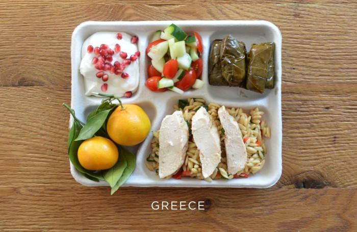 Греческий обед
