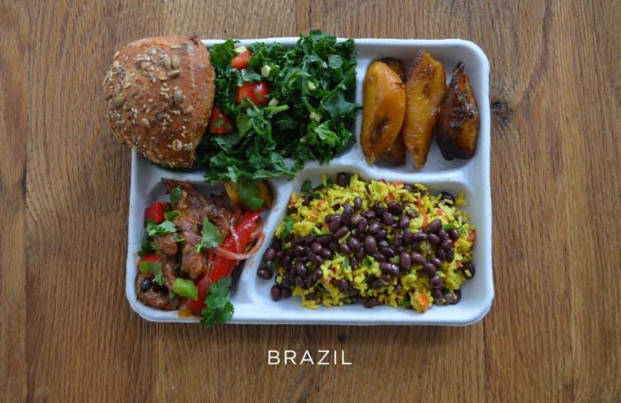 Бразильский обед