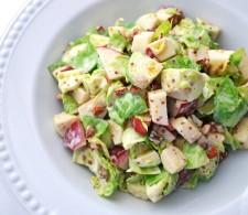 Вальдорф салат с брюссельской капустой